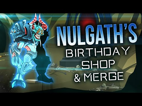 AQW - Nulgath's Birthday Shop and Merge Overview