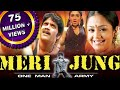 Meri Jung One Man Army Mass Hindi Dubbed Full Movie  Nagarjuna Jyothika Rahul Dev