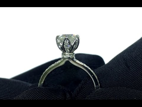Customised Diamond Ring: Unboxing 6-Prongs Flower Petal Proposal Ring