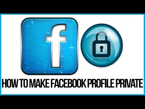 How To Make Your Facebook Profile Private - Facebook Tutorial