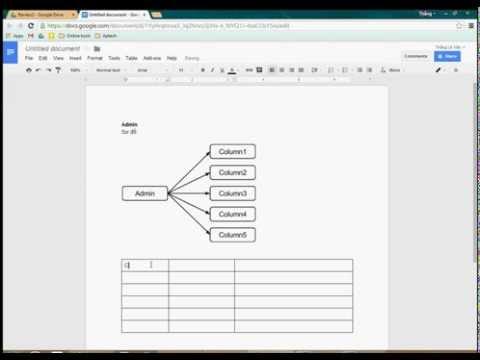 Using Google Drawing (in Google Docs)