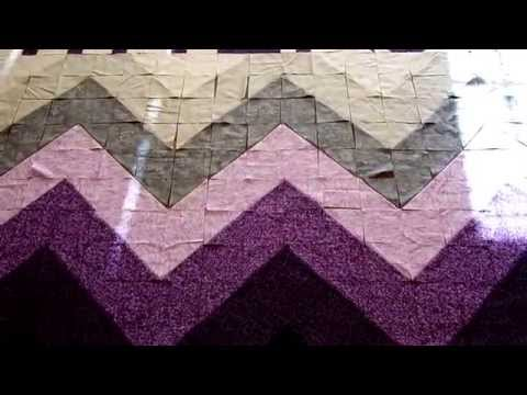 Quilting Made Easy: Ombre Chevron Quilt!