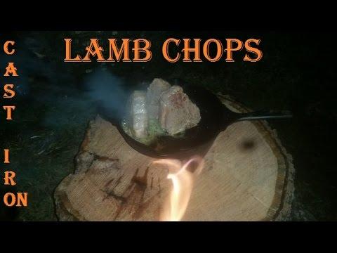 Cast Iron Lamb Chops