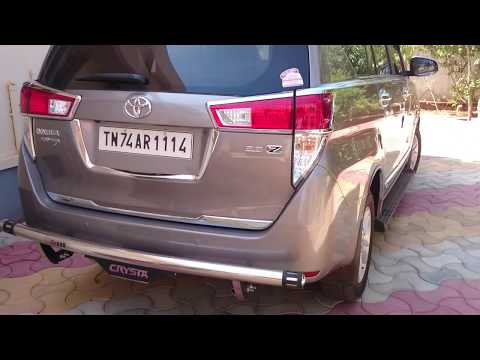 DIY -  Innova Crysta,Fortuner Spare wheel removal and Jacking