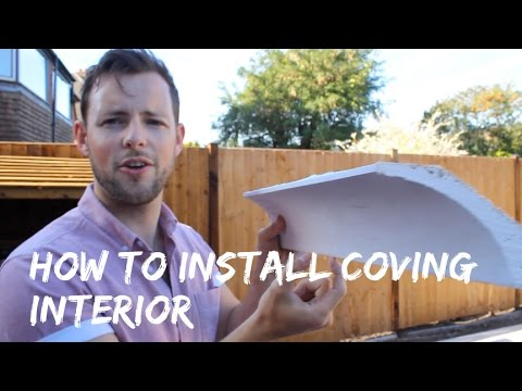 How to Install Coving Internal