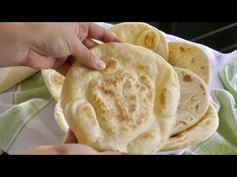 Homemade Pita Bread Recipe - Simple and Easy Grilled Flatbread