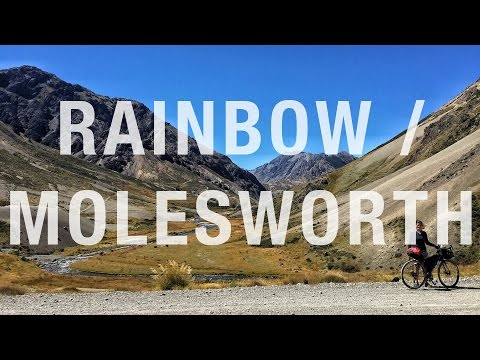 NZ's South Island by bike 01: Rainbow and Molesworth Roads
