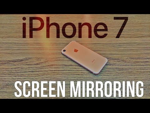 Screen Mirroring iPhone 7 (No Apple TV Required) - 2017 New Method