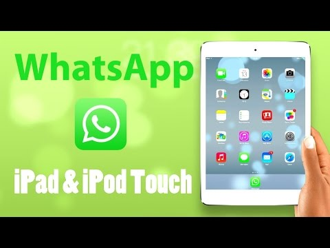 Install Whatsapp on iPad/IPod without computer- ios 7/8/9 /10