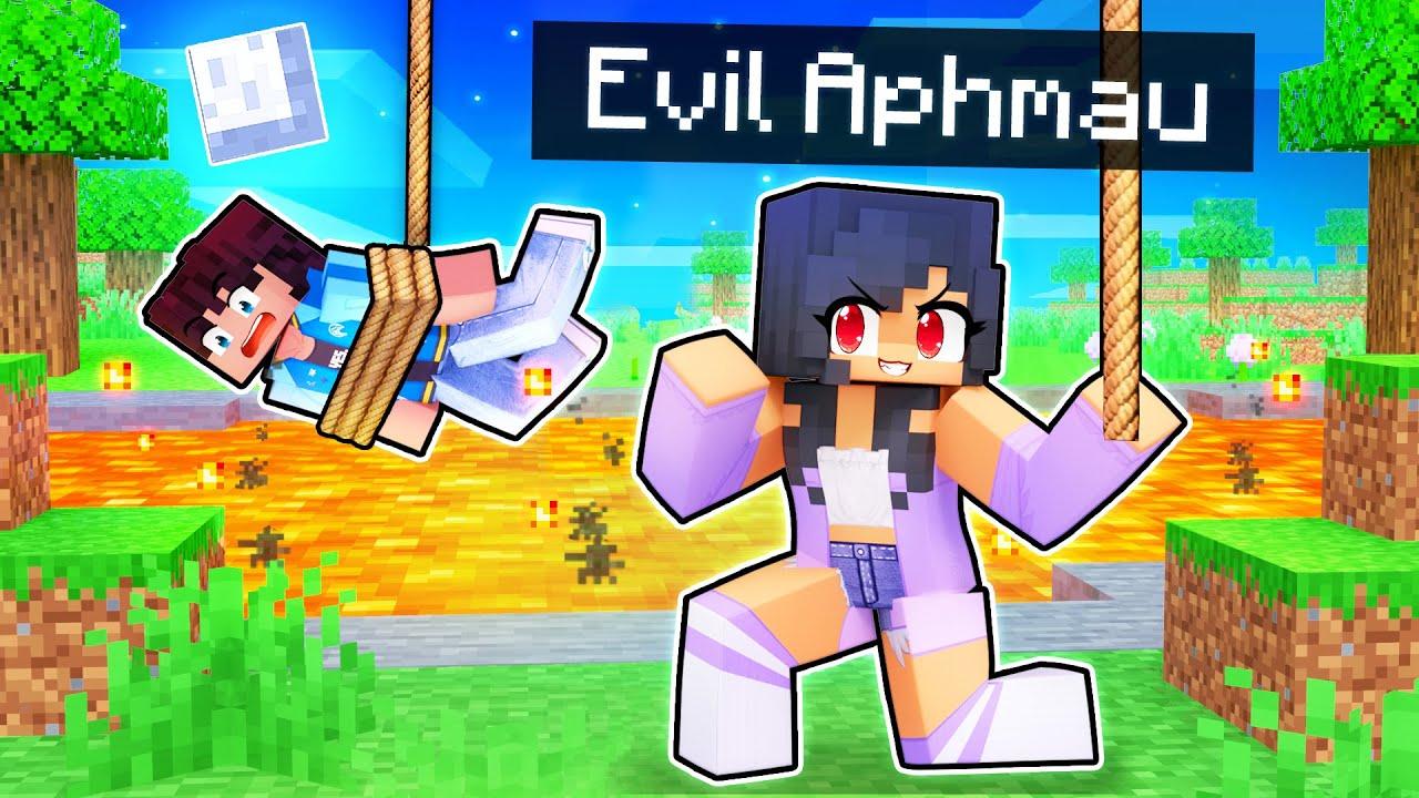 Transforming Into EVIL APHMAU In Minecraft!