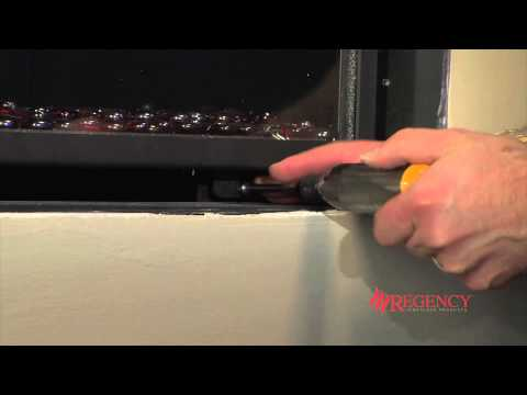 How to Clean the Glass on Regency Horizon® HZ30E/HZ40E Gas Fireplaces