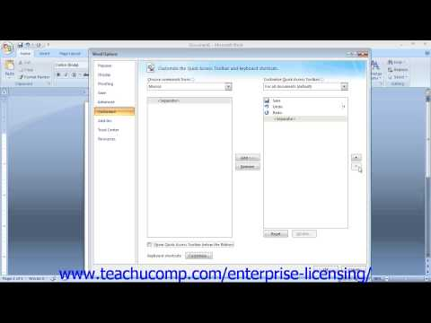 Microsoft Office Word 2013 Tutorial Making Macros 22.4 Employee Group Training