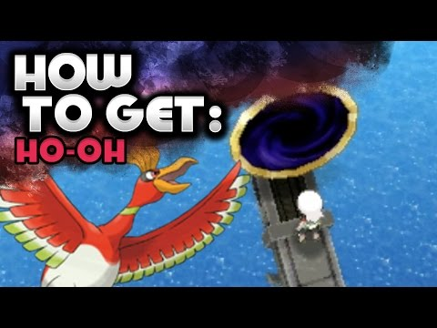 How to Catch Ho-Oh - Pokemon Omega Ruby and Alpha Sapphire