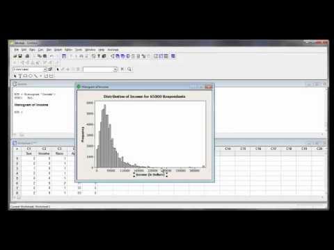 MINITAB Assignment 2 Histogram Help Binning