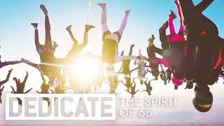 Meet the 65 skydivers that broke a world record. | DedicateE5