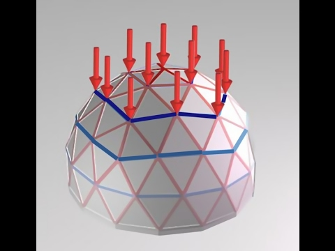 Geodesic dome structural analysis basics