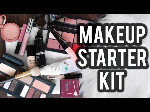 The Ultimate HIGH END STARTER MAKEUP KIT: Perfect For Beginners! | Jamie Paige