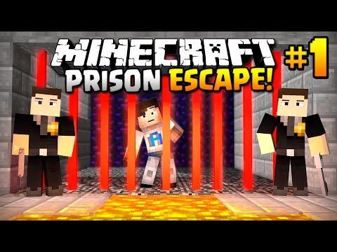 HELP - I'VE BEEN ARRESTED - (Minecraft Prison Escape #1)
