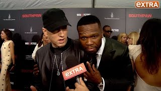 Our Eminem Interview Gets Crashed by 50 Cent: