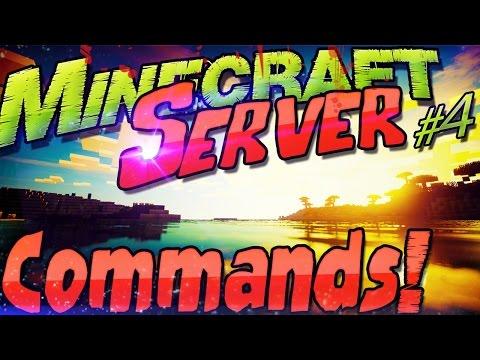 Minecraft Server 1.11 COMMANDS Funktionen & Befehle | OP + Whitelist + Spawn + Zeit Wetter Gamemode
