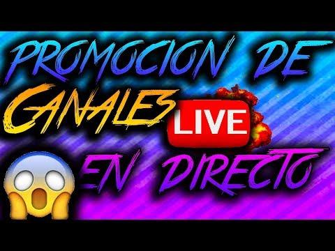 promo de canales directo en vivo 2018