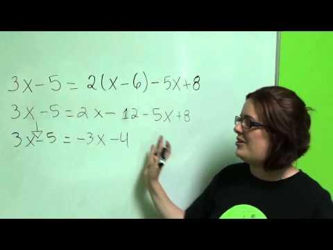Tutorial Algebra 6 Ecuaciones