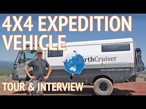 Ultimate Off Road Camper   4x4 Expedition Vehicle by EarthCruiser
