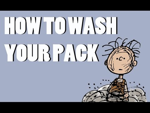 How to Wash Your Internal Frame Backpack