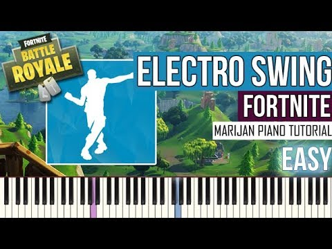 How To Play: Fortnite - Electro Swing | Piano Tutorial EASY