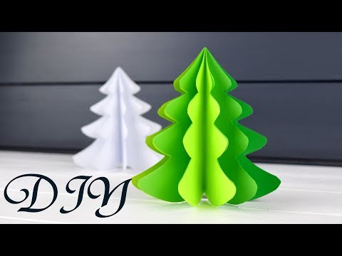 How to make 3D Christmas Tree from paper