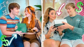Boyfriends Luxury Shop for Twin Girlfriends Challenge: Boyfriend VS Boyfriend