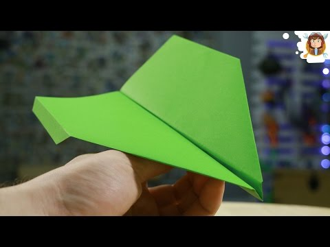 How to Make a Paper Airplane - Fly Far