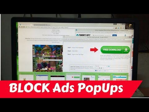 Block Ads POP UPS on Chrome Browser (Hindi)