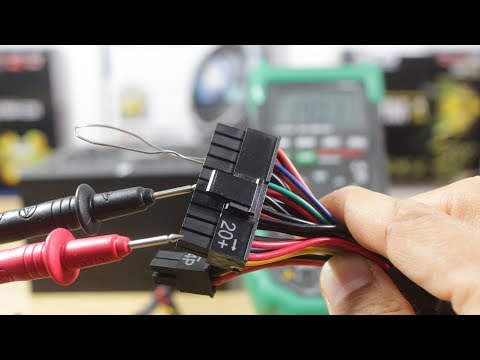 How To Test A Power Supply Unit (PSU) With A Digital Multimeter | Advanced Troubleshooting