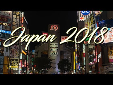 JAPAN CINEMATIC VLOG 2018