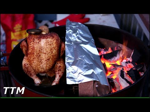 Slow 'N Sear Beer Can Chicken