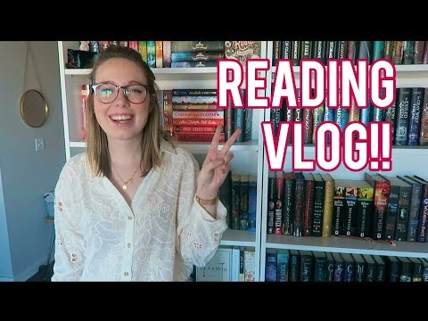 Reading Vlog: I READ TWO BOOKS IN TWO DAYS!