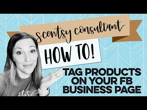 How to tag products in photos on your Facebook business page!