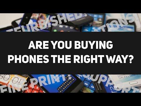 Top 4 mistakes when buying smartphones online!