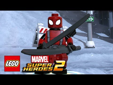 LEGO Marvel Super Heroes 2 - How To Make Deadpool