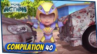 VIR: The Robot Boy Cartoon In Hindi | Compilation 40 | Hindi Cartoons for Kids | Wow Kidz Action