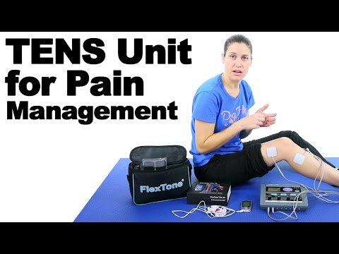 TENS Unit for Pain Management & EMS for Muscle Rehab - Ask Doctor Jo
