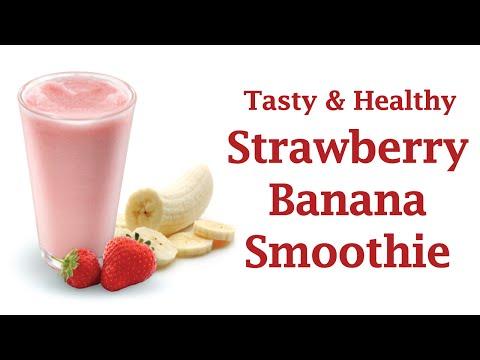 How to Make a Strawberry Banana Smoothie?