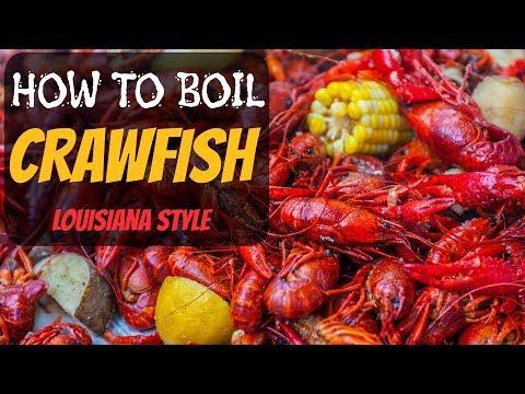 How To Boil Crawfish: Louisiana Style!