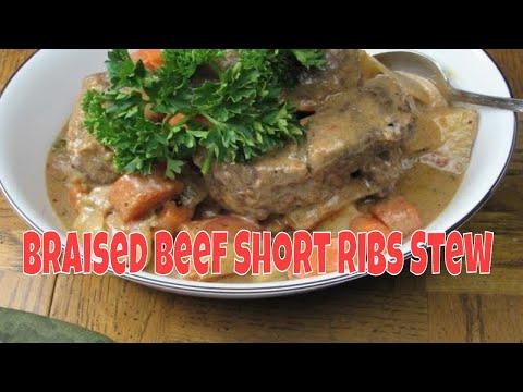Braised Beef Short Ribs Stew