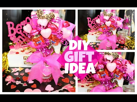 Easy DIY Valentine's Day Gift Idea | Candy Bouquet