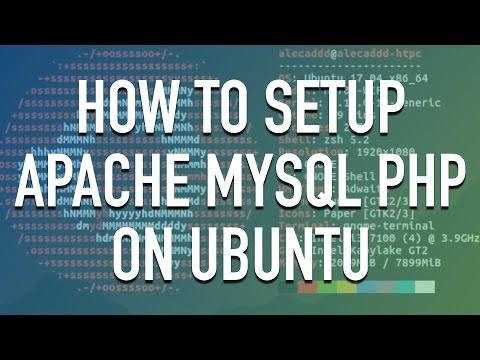 How to setup Apache, MySql, and PHP on Ubuntu Linux