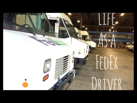 Life As a FedEx Driver