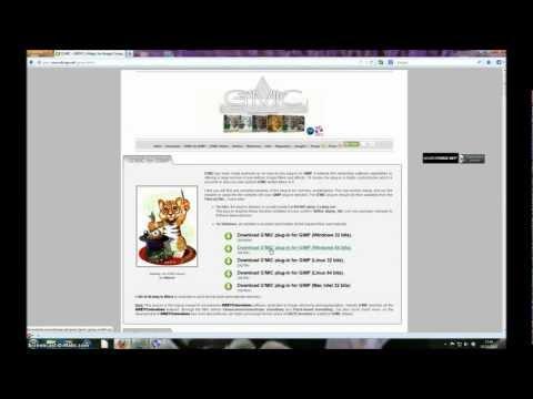 GIMP 2.8 Tutorial - How to install the G'MIC plugin