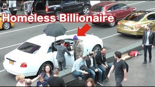 The Homeless Billionaire Prank